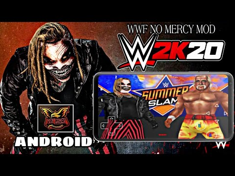 WWF NO MERCY WWE 2K20 MOD FOR ANDROID