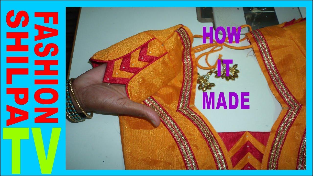 How To Make Designer Blouse At Home 45 Designer Bridal Butterfly Designer Hand Youtube