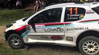 Flagra quebra suspensão Larrossa/Arnone - Slow - Rally de Pomerode 2016