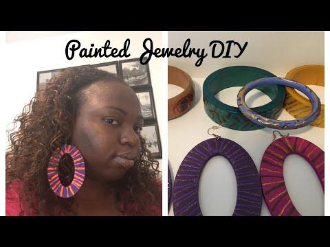 Painted Jewelry DIY