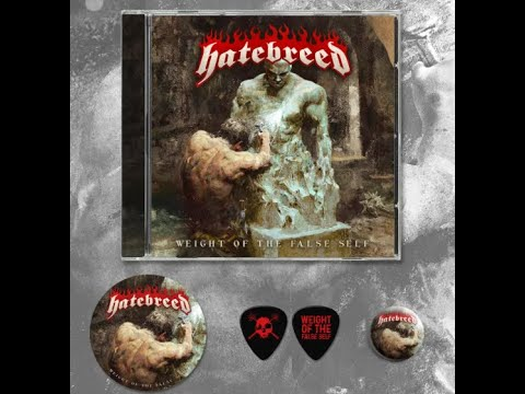 "Hatebreed release new song ""Weight Of The False Self"" off new album out nov 27th!"