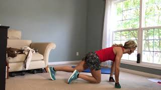 Fit With Deb: Easy Abs Workout 8