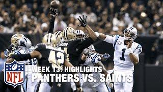Panthers vs. Saints | Week 13 Highlights | NFL