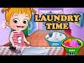 Baby Hazel Laundry Time | Fun Game Videos By Baby Hazel Games