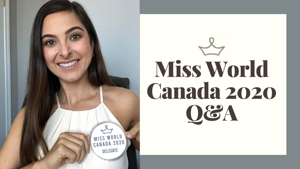 Miss World Canada Q&A