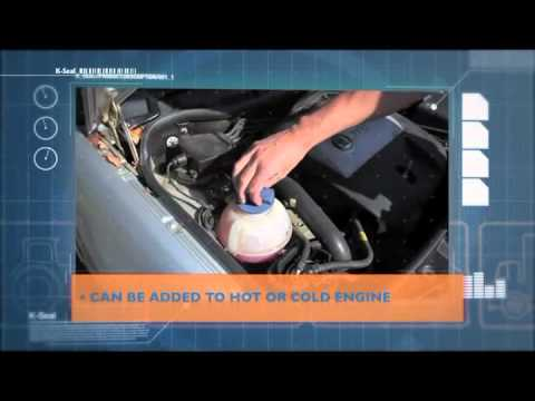 How To Use K Seal To Stop Coolant Leaks And Fix Head Gaskets Youtube