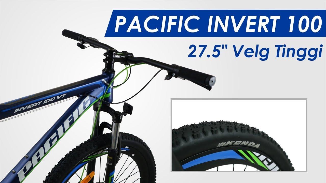 Sepeda Pacific Invert 100 Velg Tinggi 27 5 Youtube