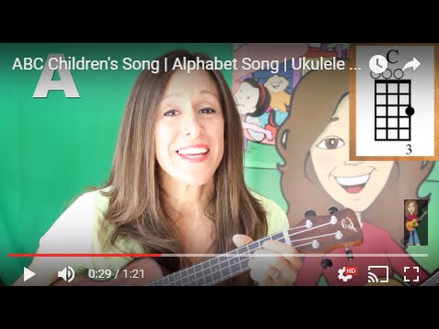 Abc Childrens Song Alphabet Song Ukulele Chords Patty Shukla