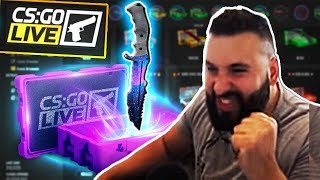 Unboxing $7000 KNIFE with YOUR CASES!
