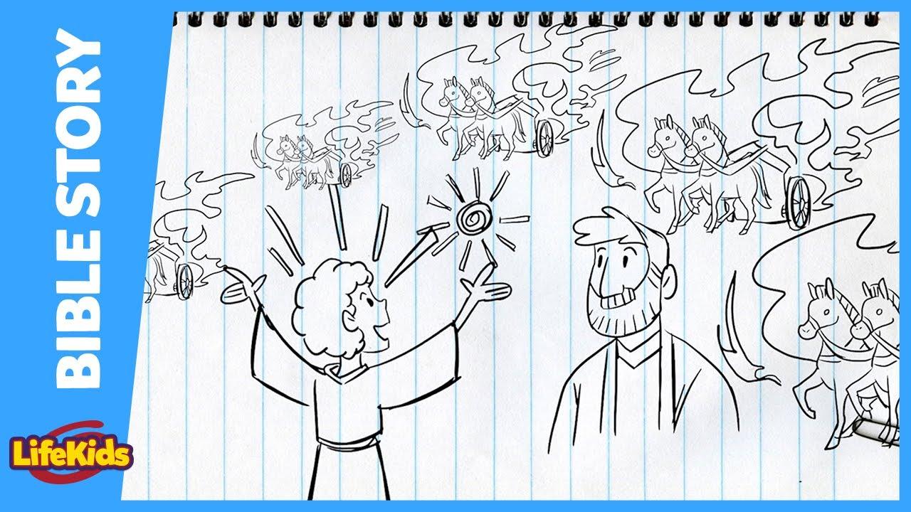 Naaman Was Healed Coloring Page - Children's Bible Activities ... | 720x1280