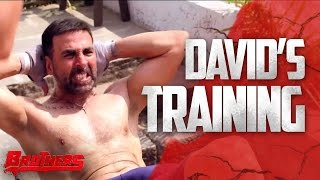 David's Training | Brothers Behind The Scenes | Akshay Kumar