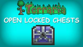 Terraria - How to open Locked Gold Chests (Golden Key)