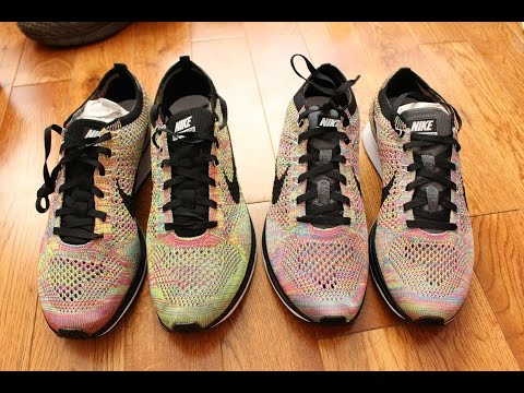 11243d91f0931 ... norway nike flyknit racer multicolor 3.0 vs 1.0 comparison 40332 5fa48