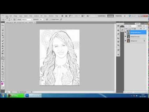 Line Art Converter Software : Converting an image into line art youtube