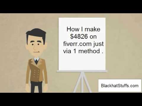 How to make money on fiverr | Fiverr...