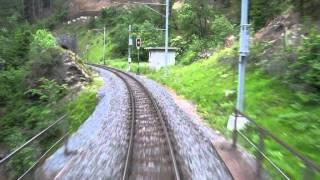 Chur - St. Moritz Train