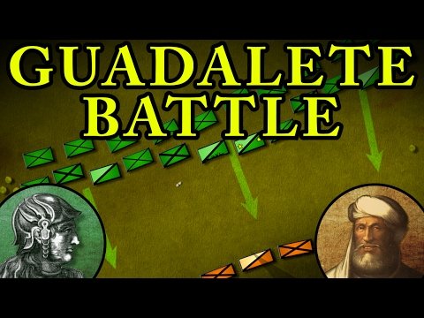 The Battle of Guadalete 711 AD