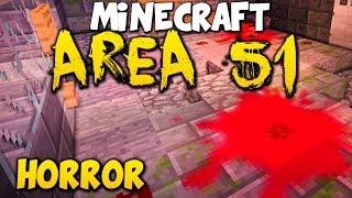 Minecraft HORROR MAP: Area 51