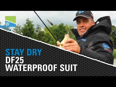 Stay Dry When Fishing With The DF25 Waterproof Suit