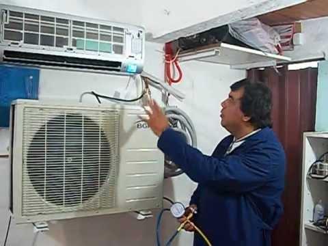 Aire acondicionado spllit r 410 a ecol gico instalaci n for Como montar un aire acondicionado