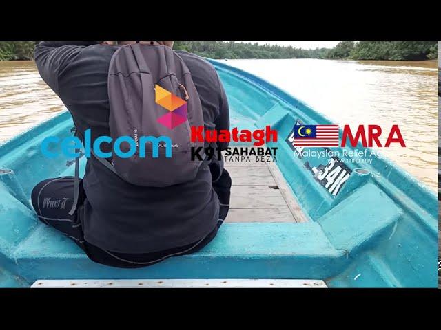 MRA bersama ANSARA MRSM @ Kuatagh91 dan pihak Celcom Malaysia menyantuni komuniti Nelayan
