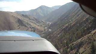Idaho Backcountry Landing, Thomas Creek, Bob & Neil