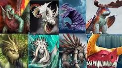 All 8 LEGENDARY DRAGONS (New Crimson Goregutter ) - Dragons:Rise of Berk New Update