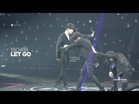 180418 방탄소년단 지민 (BTS JIMIN) - Let Go (4K fancam)