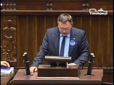 Mirosław Suchoń – wystąpienie z 9 marca 2016 r.