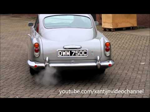 Aston Martin DB5 Start-up and on the road