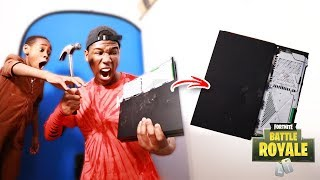 Destroying My Brothers PlayStation 4 Over Fortnite (Rage)