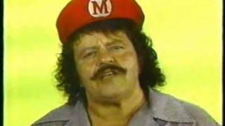 "Captain Lou Albano  - WGBS Philly 57 ""Just Say No"" Drugs PSA"