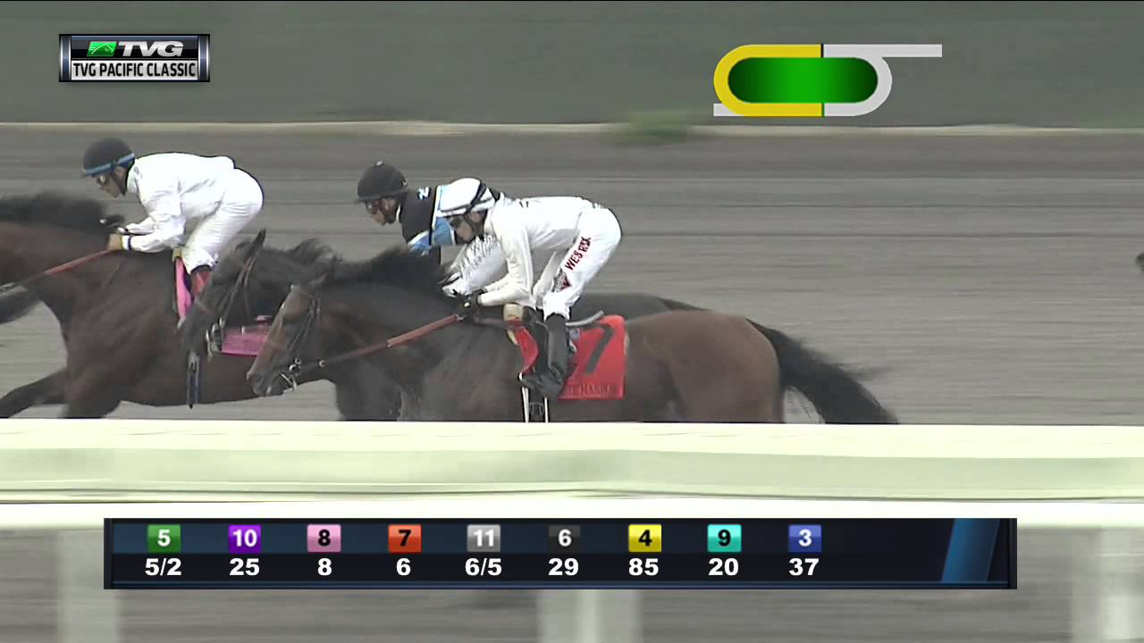 Top 30 Countdown - #6 TVG Pacific Classic (Shared Belief ...