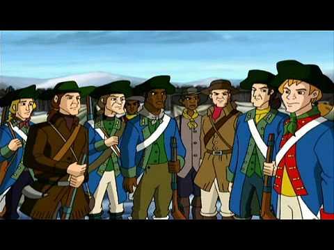 "Liberty`s Kids: #11 ""Washington Takes Command"" (2/2)"
