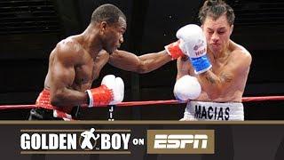 Golden Boy On ESPN: Lamount Roach Jr vs Mario Macias (TKO)