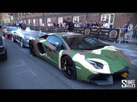 Preview of the 2013 Gumball 3000 Grid!