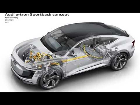 Amazing !!! Audi E Tron Sportback Concept previews 2019 production model