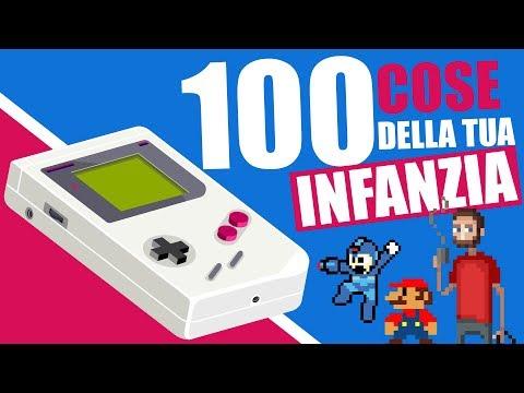 100 COSE DELLA TUA INFANZIA | DANIELE DOESN'T MATTER feat. YOUTUBE ITALIA