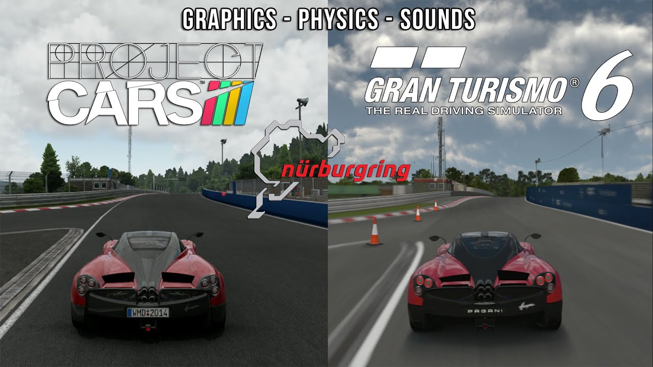 Project CARS Vs GT6
