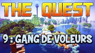 THE QUEST - Ep. 9 : GANG DE VOLEURS ! - Fanta et Bob Minecraft Adventure