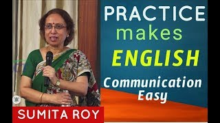 Gambar cover Practice makes English Communication Easy || Prof Sumita Roy || IMPACT || 2019