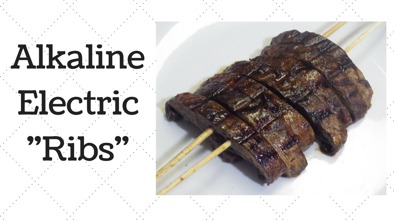 Vegan Ribs Dr  Sebi Alkaline Electric Recipe