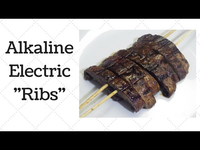 Vegan Ribs Dr  Sebi Alkaline Electric Recipe - YouTube