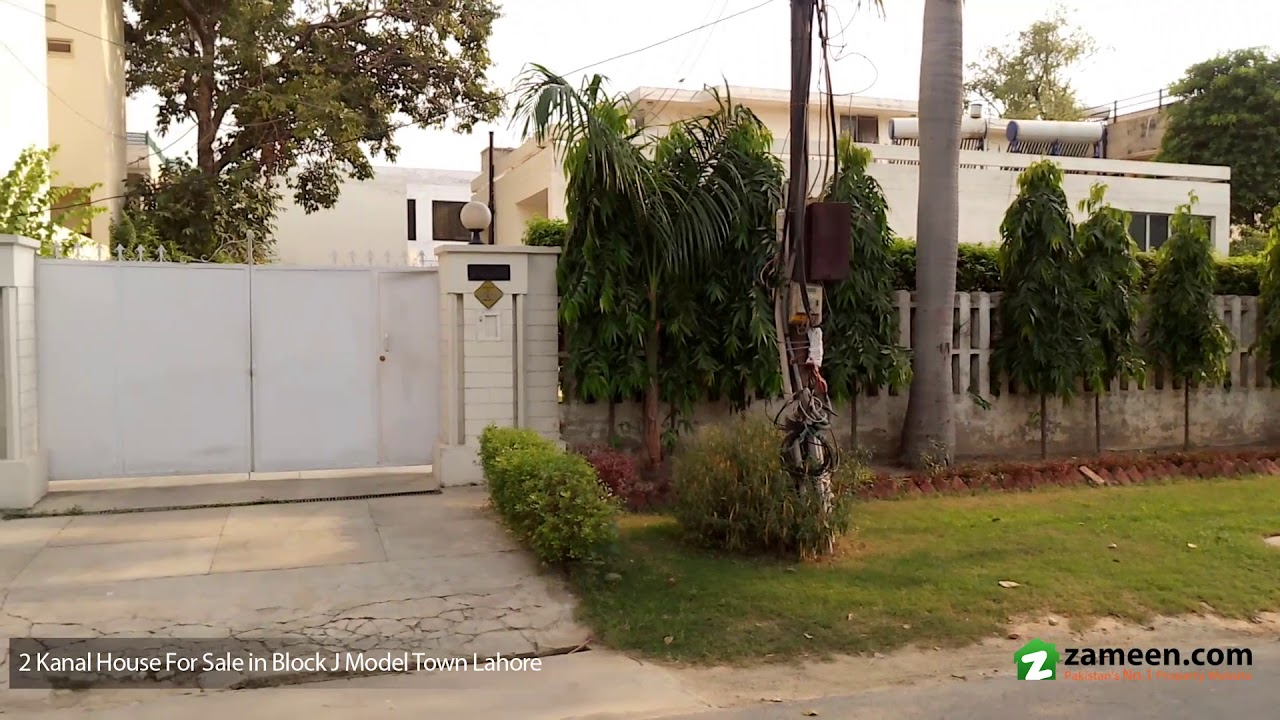 2 Kanal House Is Available For Sale In Block J Model Town Lahore