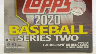 2020 Topps Series 2 (3) Hobby Box Break Break