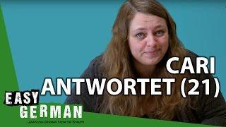 Cari Antwortet (21) - Umgangssprache lernen | Angela Merkel | Dont mention the war!