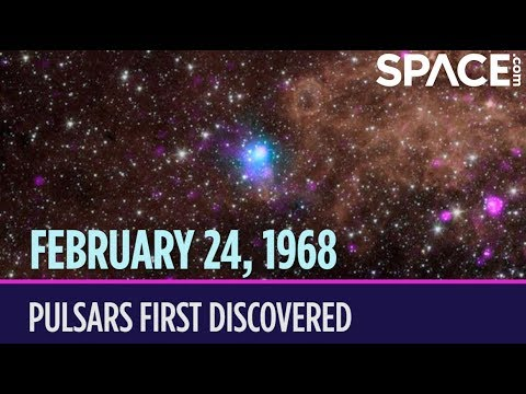 OTD in Space – February 24: Pulsars First Discovered