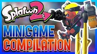SPLATOON 2 MINI GAME COMPILATION (Jetpack Battle and more)