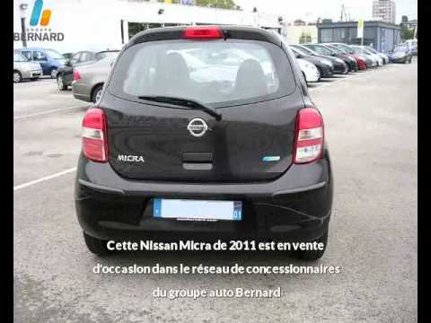 nissan micra occasion en vente besan on 25 par renault besancon youtube. Black Bedroom Furniture Sets. Home Design Ideas