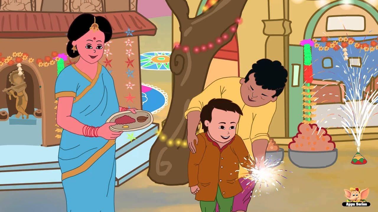 happy diwali   nursery rhyme in tamil   youtube